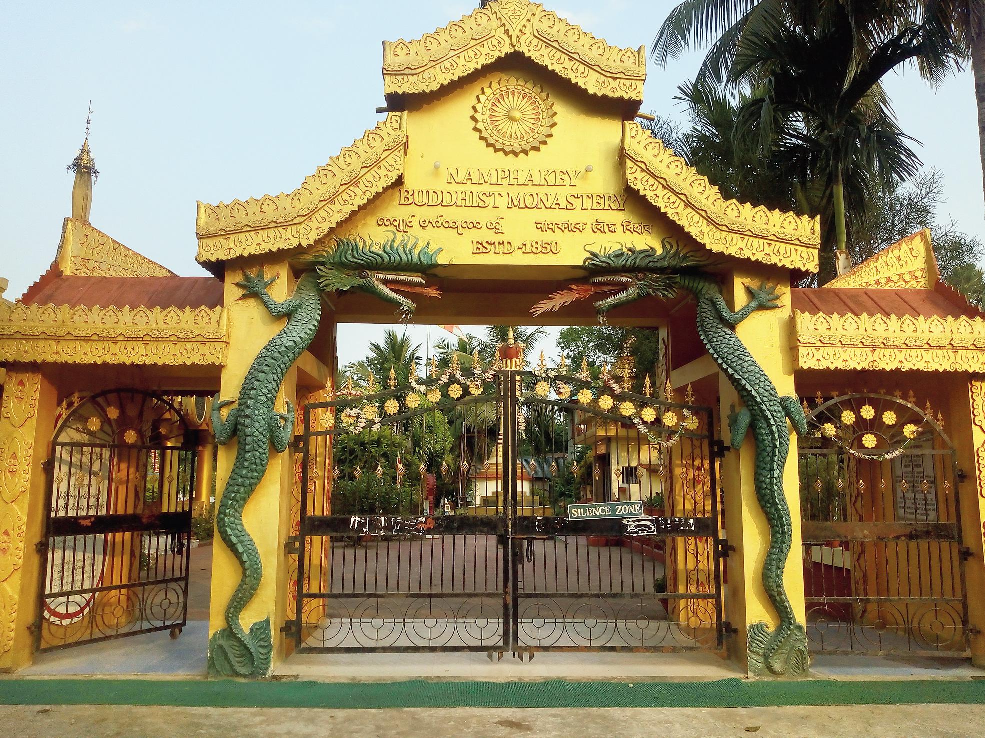 The monastery at Namphake.