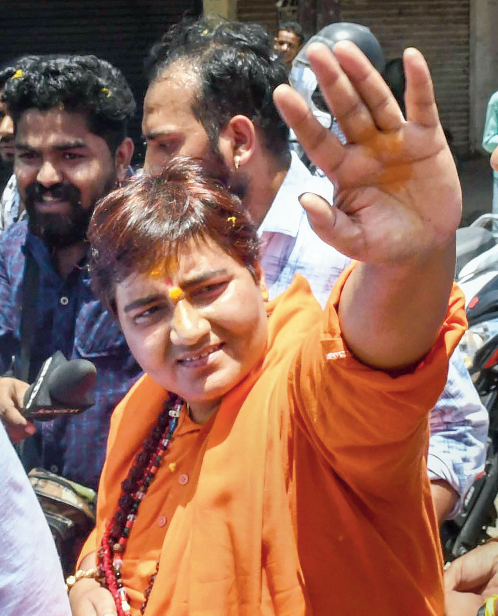 Pragya Singh Thakur ignites furore with 'patriot' tag on Godse
