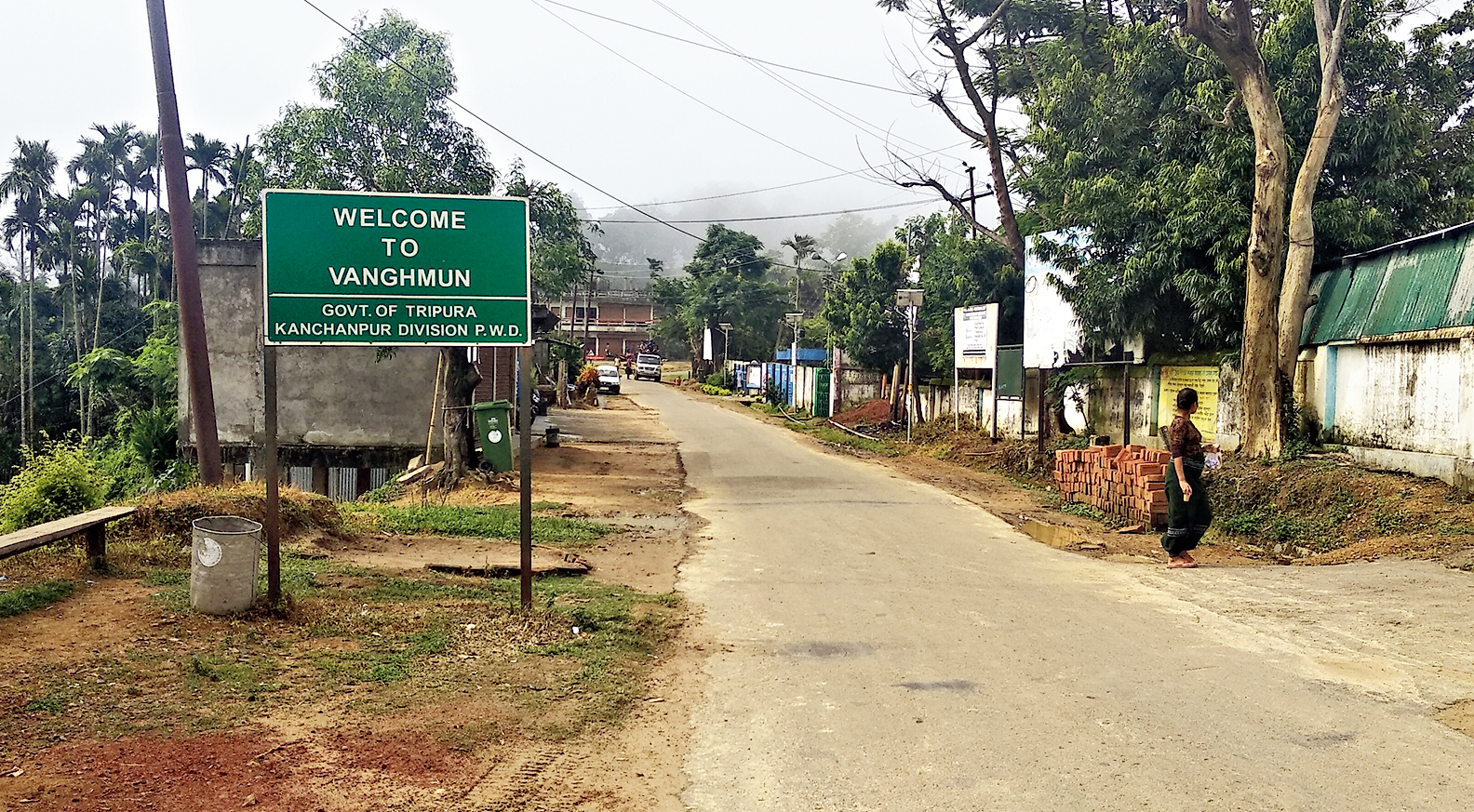 Vanghmun Locals Vie For India S Cleanest Village Tag Telegraph India