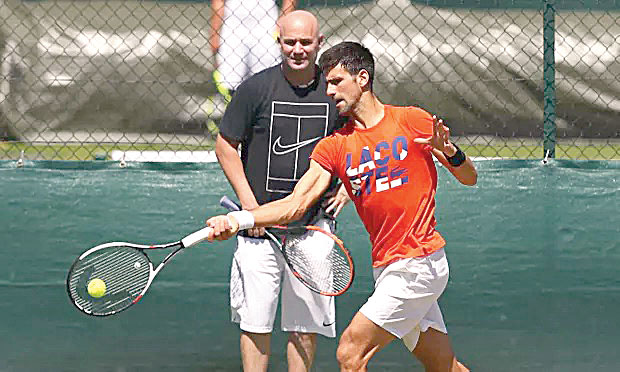 In 2017, he becomes Djokovic's coach but in less than a year, they part ways