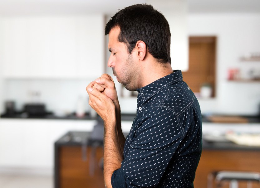 Doctors said smoking inside a room or a smoky room made the respiratory system susceptible to any kind of infection.