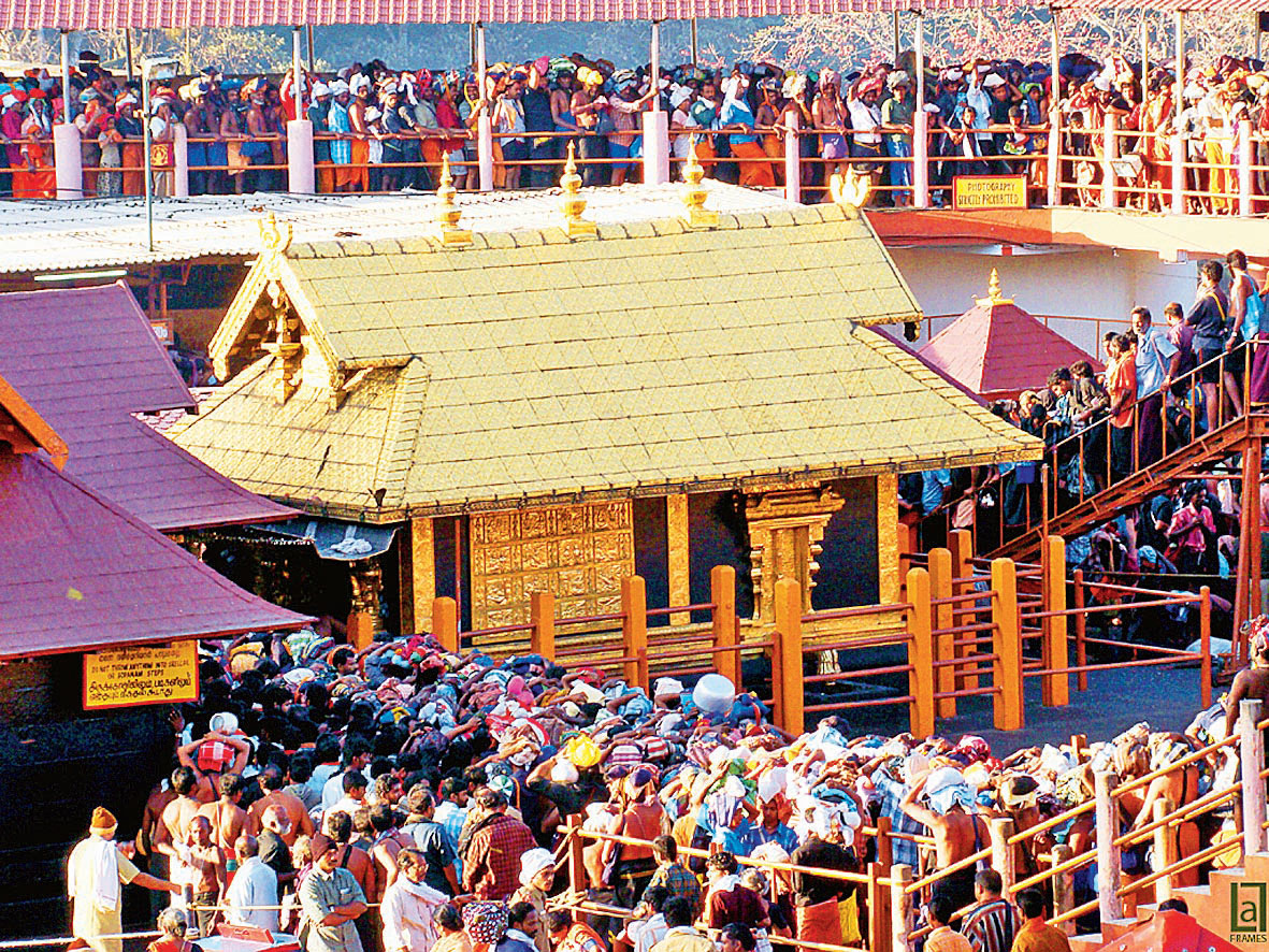 On September 28, the Supreme Court had by a 4:1 majority judgment lifted the ban on women of childbearing age entering the Sabarimala temple