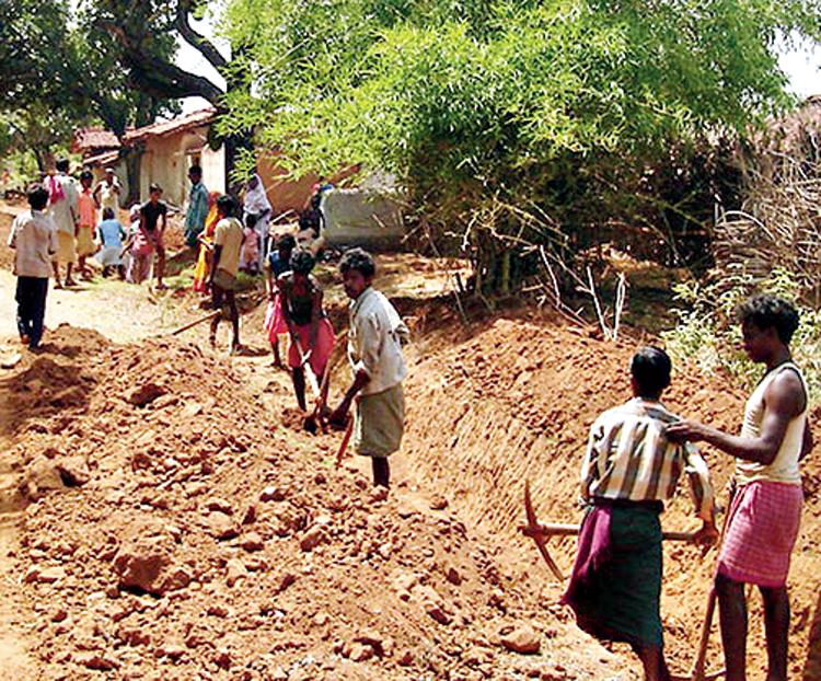 Monumental failures in implementing MGNREGA