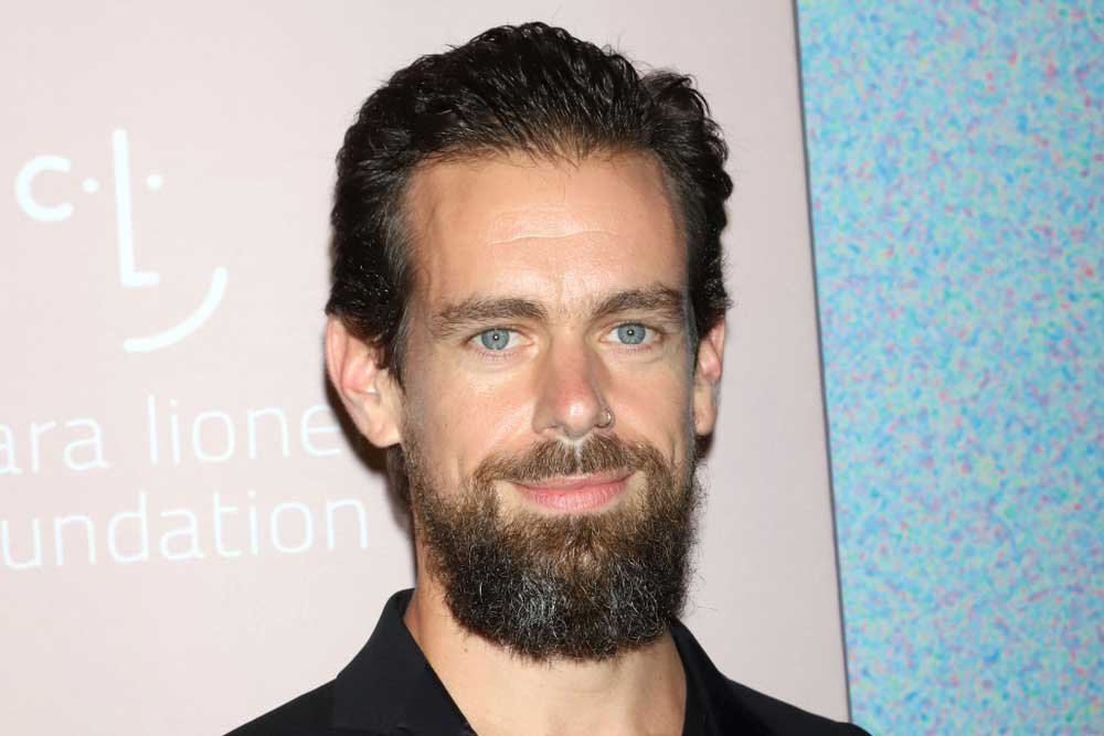 A case had been filed against Jack Dorsey (in picture) in a Rajasthan court after he had posed with a poster against Brahminical patriarchy during a recent visit to India.