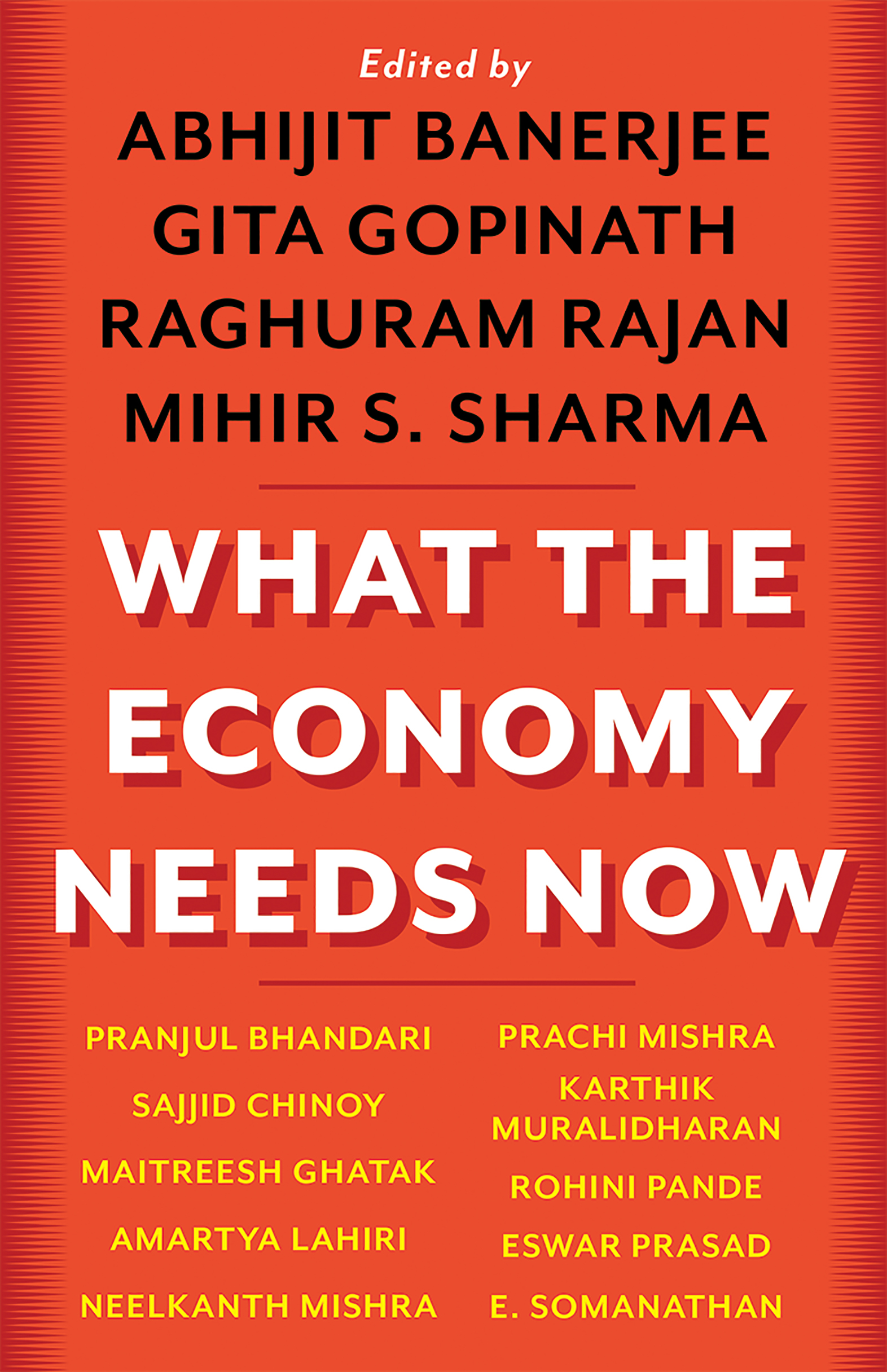 Book cover: What the Economy Needs Now