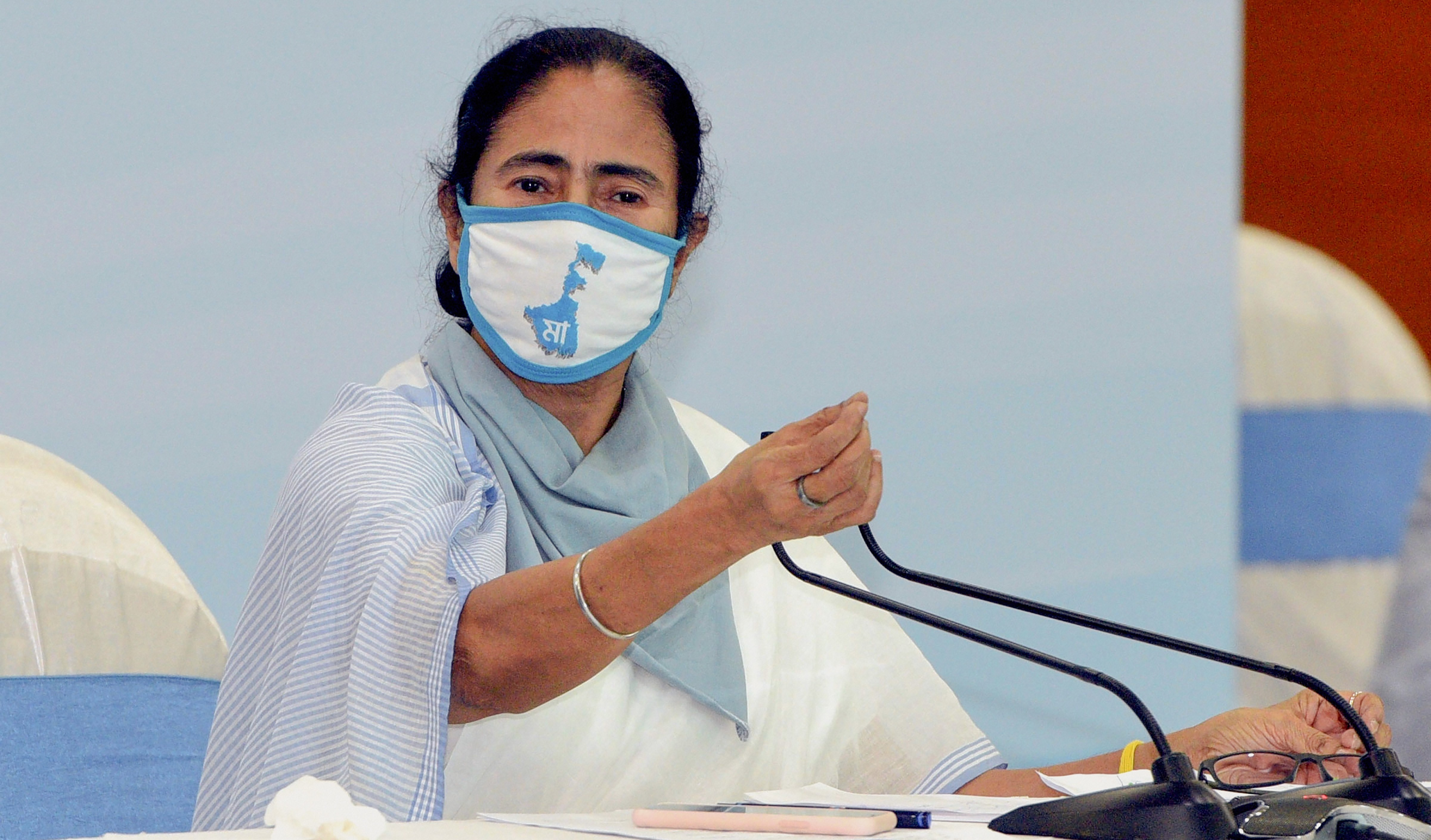 """Mamata Banerjee on June 6 warned her party workers against """"politicising relief work""""."""