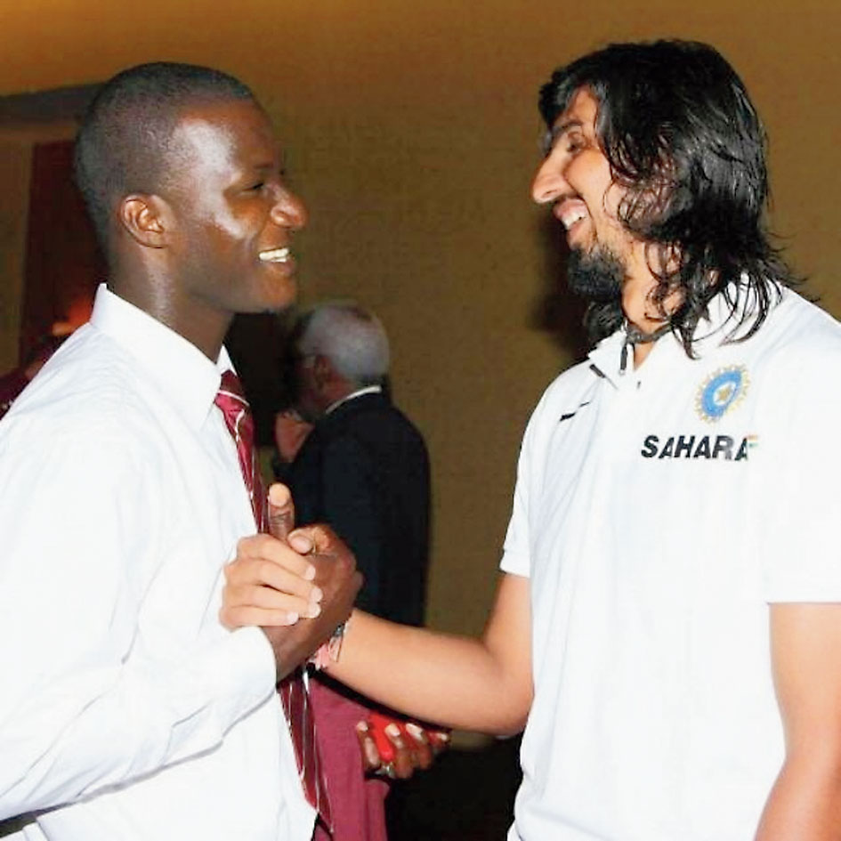 "A few days before, Ishant had posted another picture with Sammy, on April 19, on his Instagram handle: ""One of the best human being and my close friend of sunrisers!! Darren sammy."""