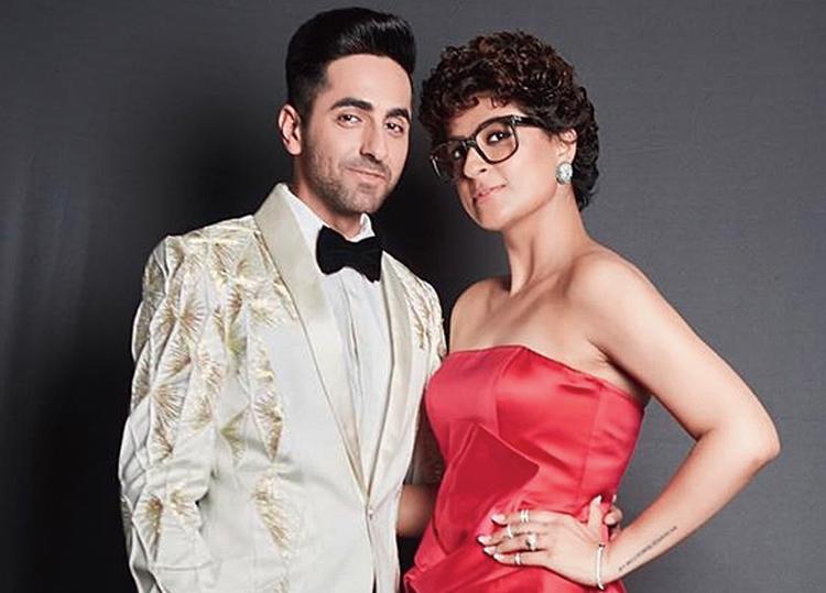 Tahira with husband Ayushmann Khurrana