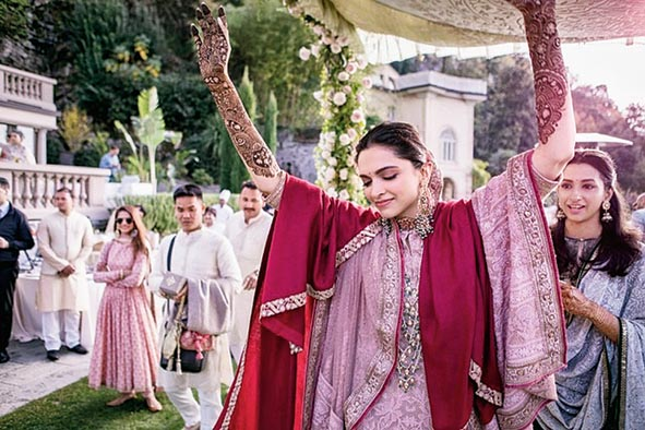 Deepika Padukone had a destination wedding in Italy