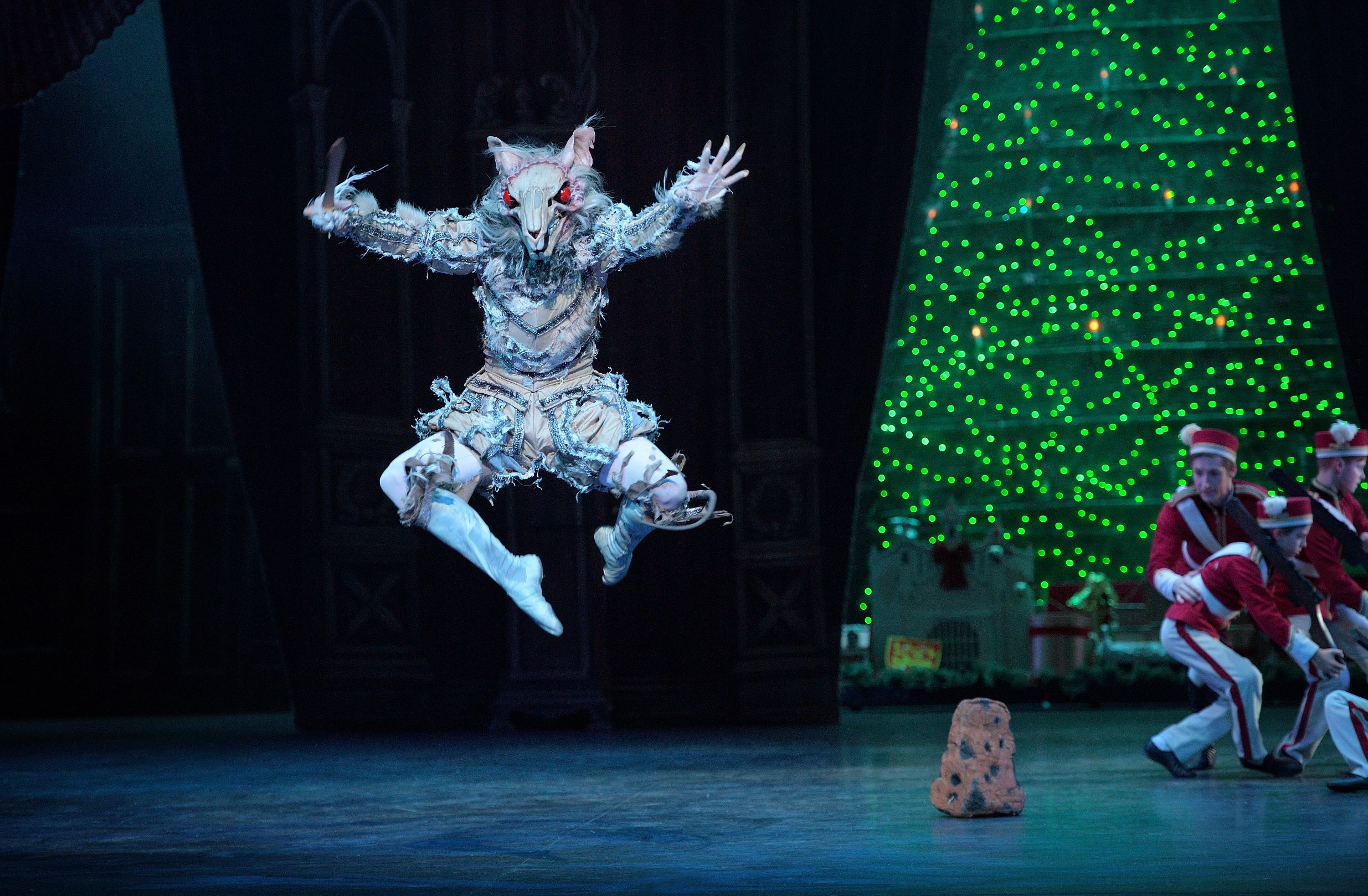The evil Mouse King from the ballet