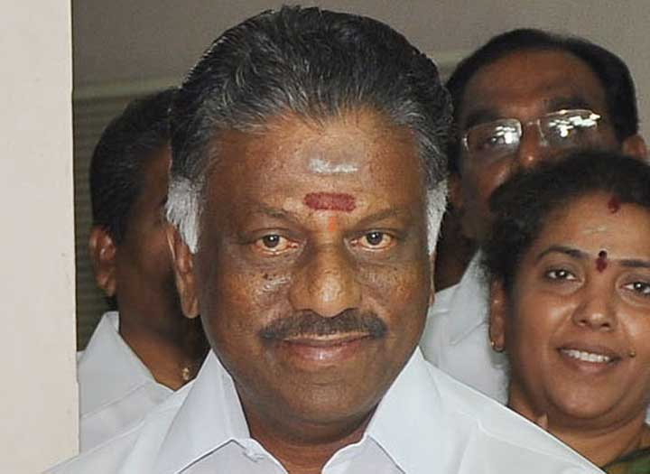 Tamil Nadu deputy chief minister O. Panneerselvam (in picture) said the party would 'vigorously pursue' the Amma National Poverty Eradication Initiative.