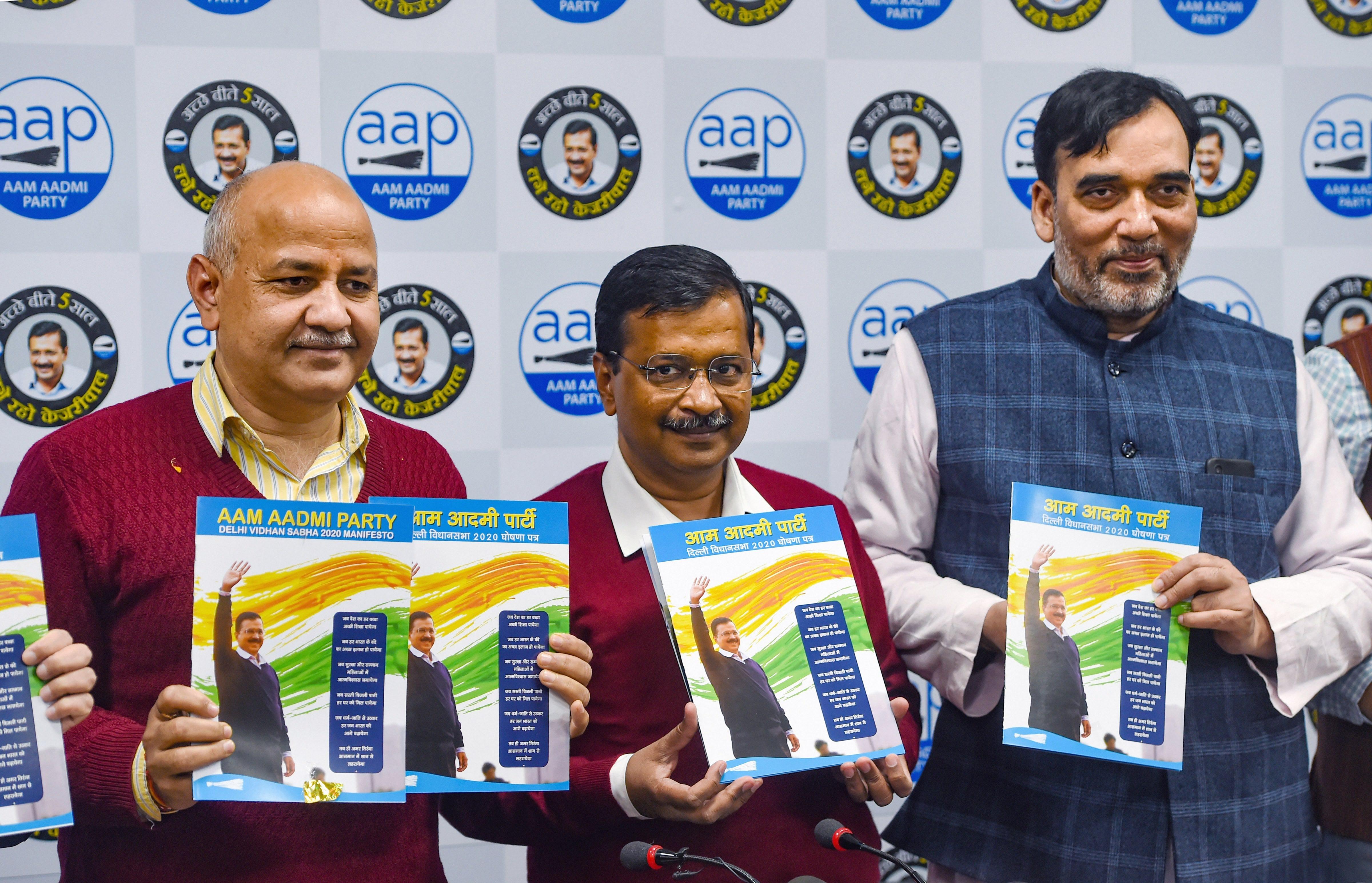Aam Aadmi Party manifesto sticks to Delhi, slips in 'deshbhakti' course