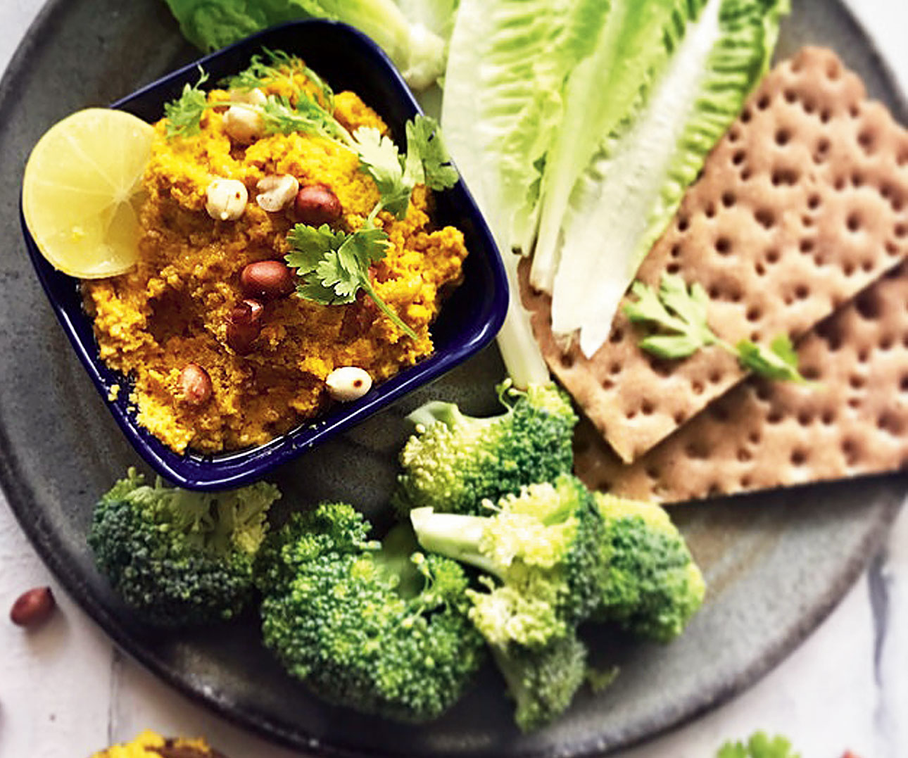 Curried Peanut Dip