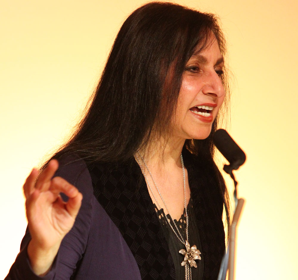 Imtiaz Dharker, the long-time Bombay girl