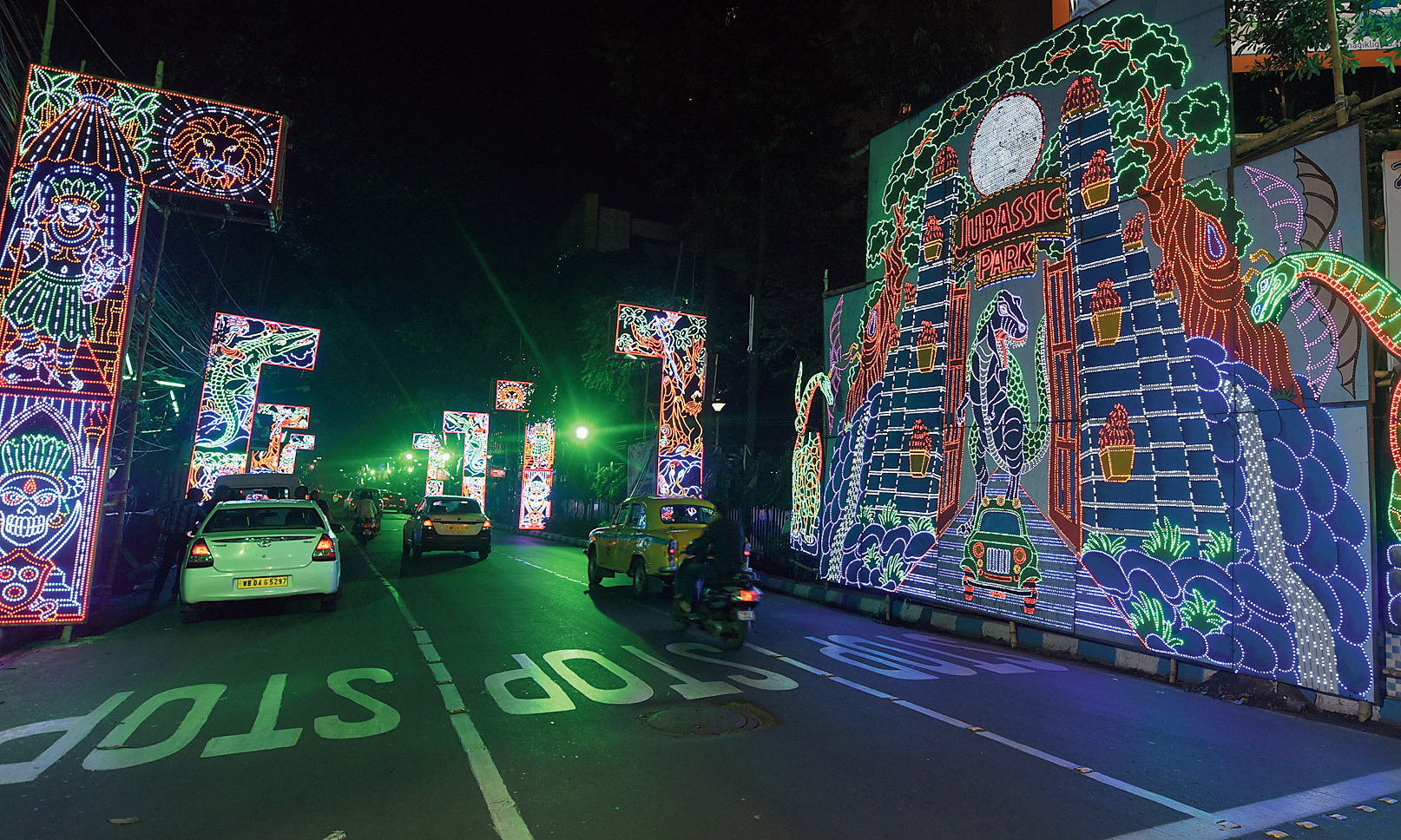 At least 170 people were prosecuted for drink driving on the night of Kali Puja in Calcutta and Salt Lake