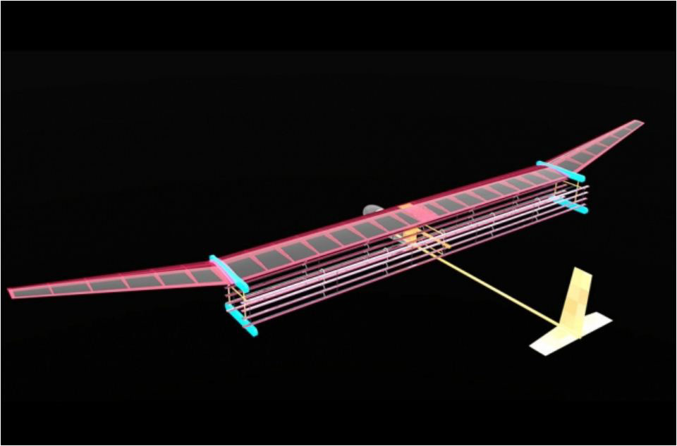 A general blueprint for an MIT plane propelled by ionic wind. The system may be used to propel small drones and even lightweight aircraft, as an alternative to fossil fuel propulsion.