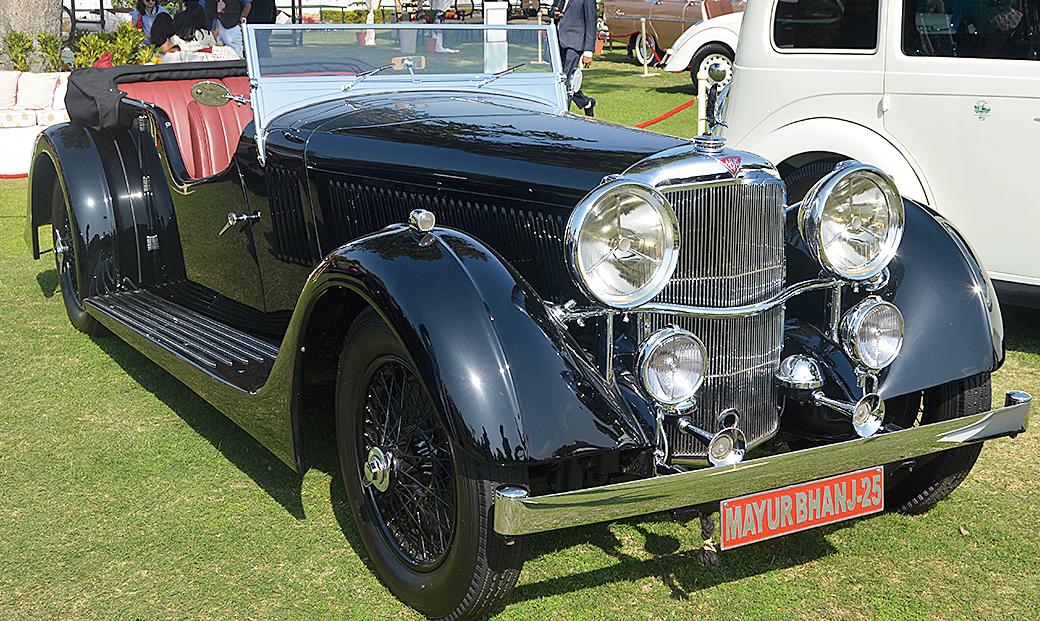 Mumbai-based Nishant Dossa's 1936 Alvis Speed 25 was judged the best Pre-War Classic European vehicle.