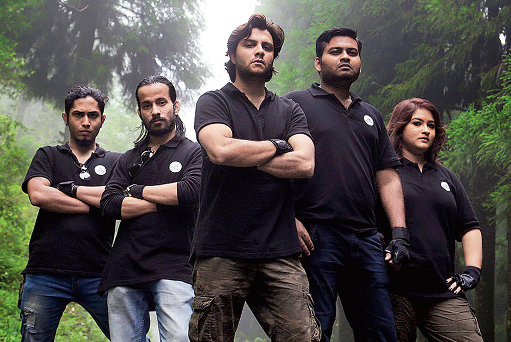 Bhoot busters: The intrepid members of Team DoS