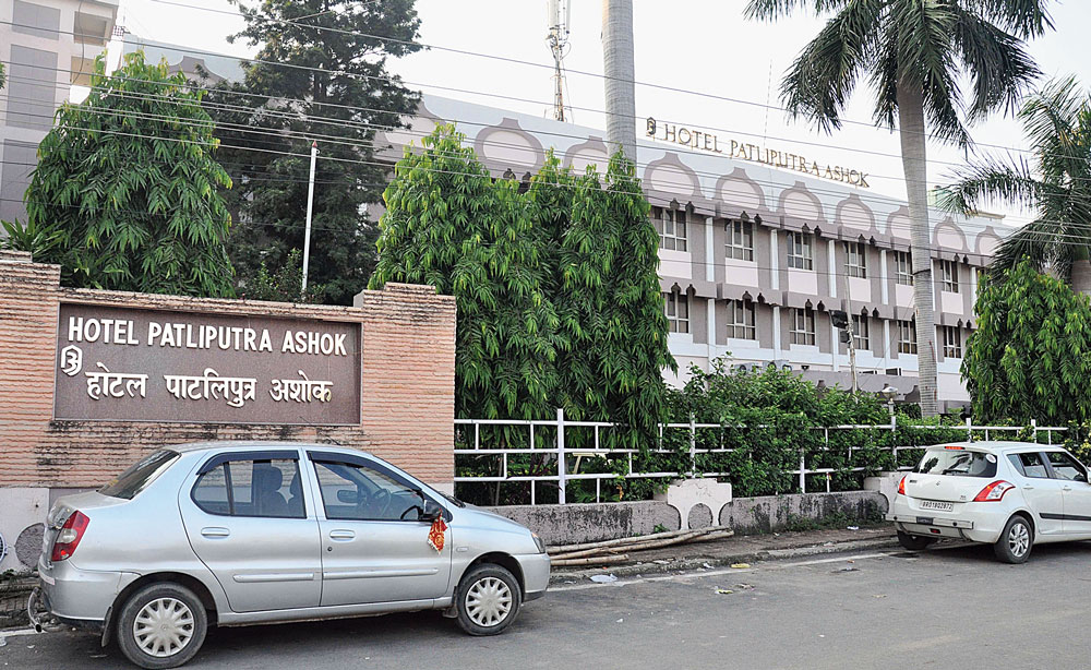 Hotel Patliputra Ashok on Beer Chand Patel Marg.