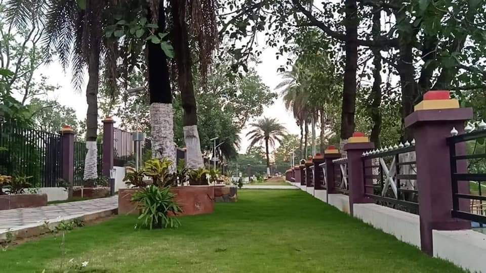 Newly-inaugurated Simpson Park in Hazaribagh On Monday