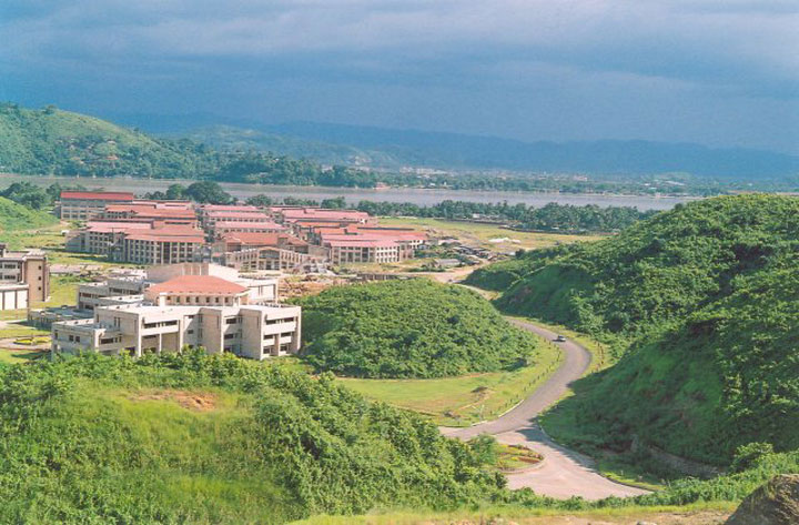 A view of the IIT-Guwahati campus. Intubation is the process of inserting a tube, called an endotracheal tube (ET), through the mouth and then into the airway. It is done so that a patient can be placed on a ventilator to assist with breathing during anaesthesia, sedation or severe illness.