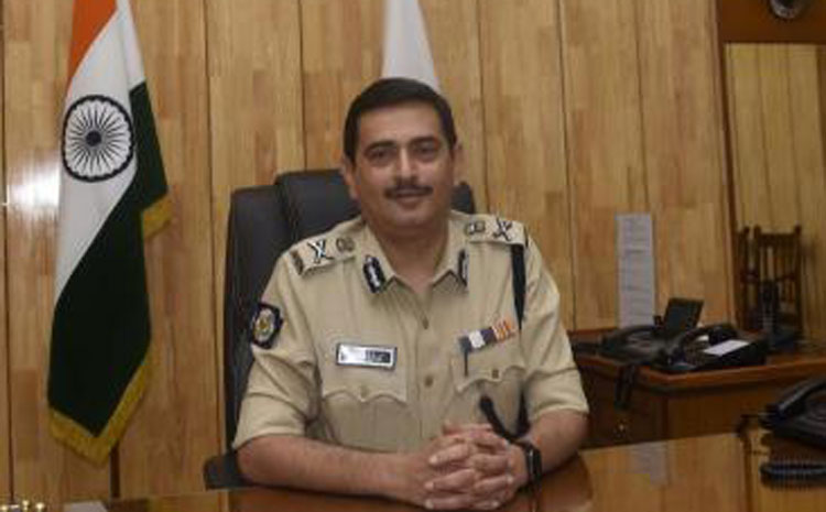 Calcutta police commissioner Anuj Sharma
