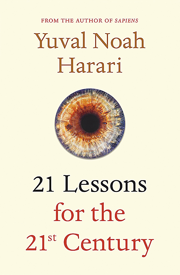 21 Lessons for the 21st Century; Jonathan Cape; Rs 799