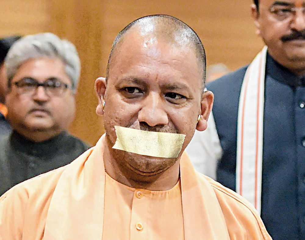 Election Commission gag on Yogi Adityanath, Mayawati, Maneka Gandhi and Azam Khan