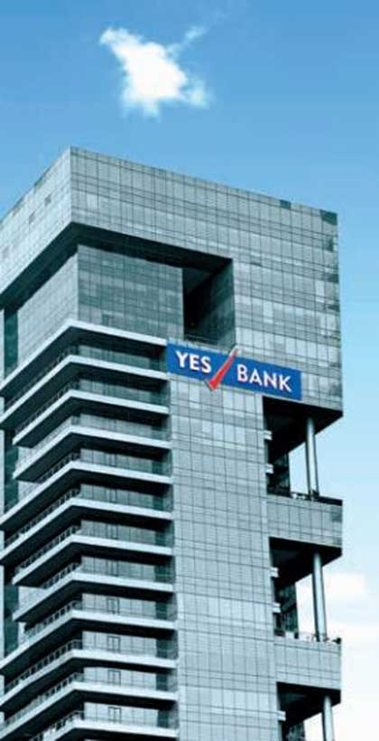 Yes Bank headquarters in Mumbai.