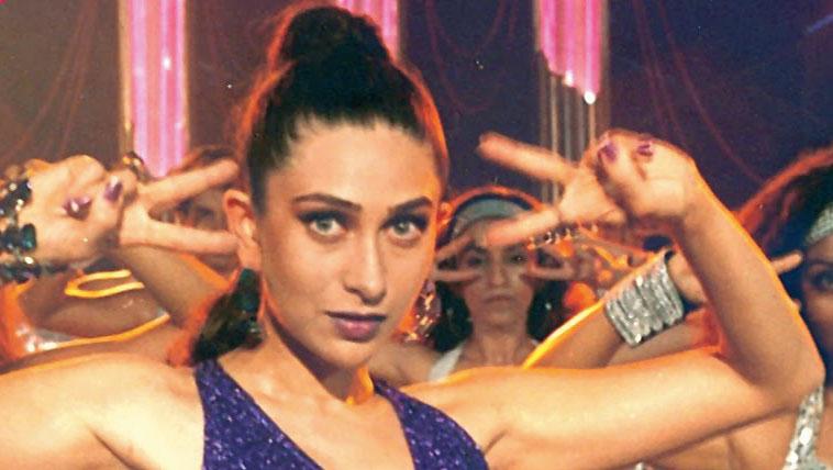 She (Karisma Kapoor, in picture) is the original diva of Indian cinema, the dance queen: Kareena