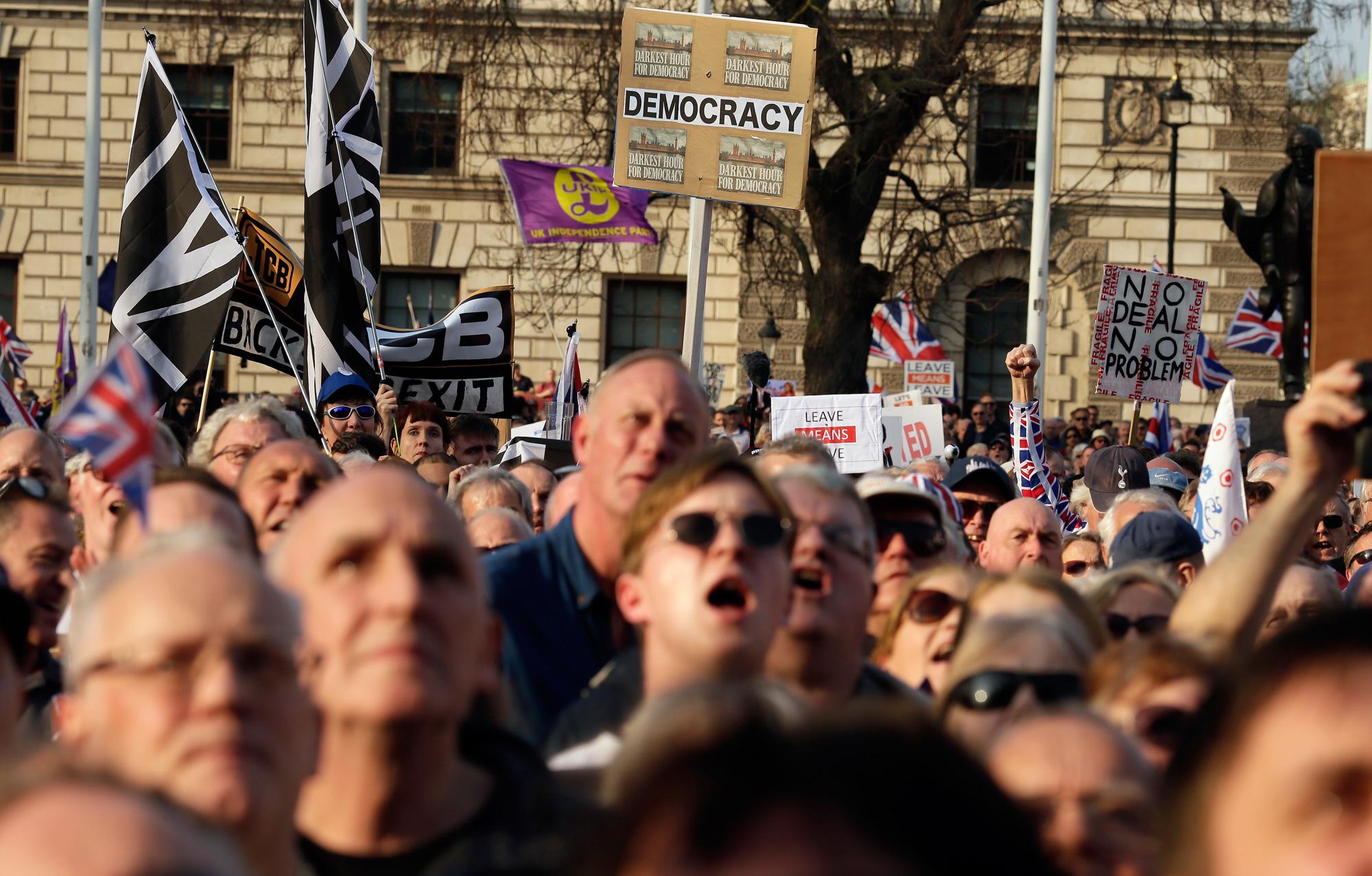 People 'have lost confidence in British democracy'
