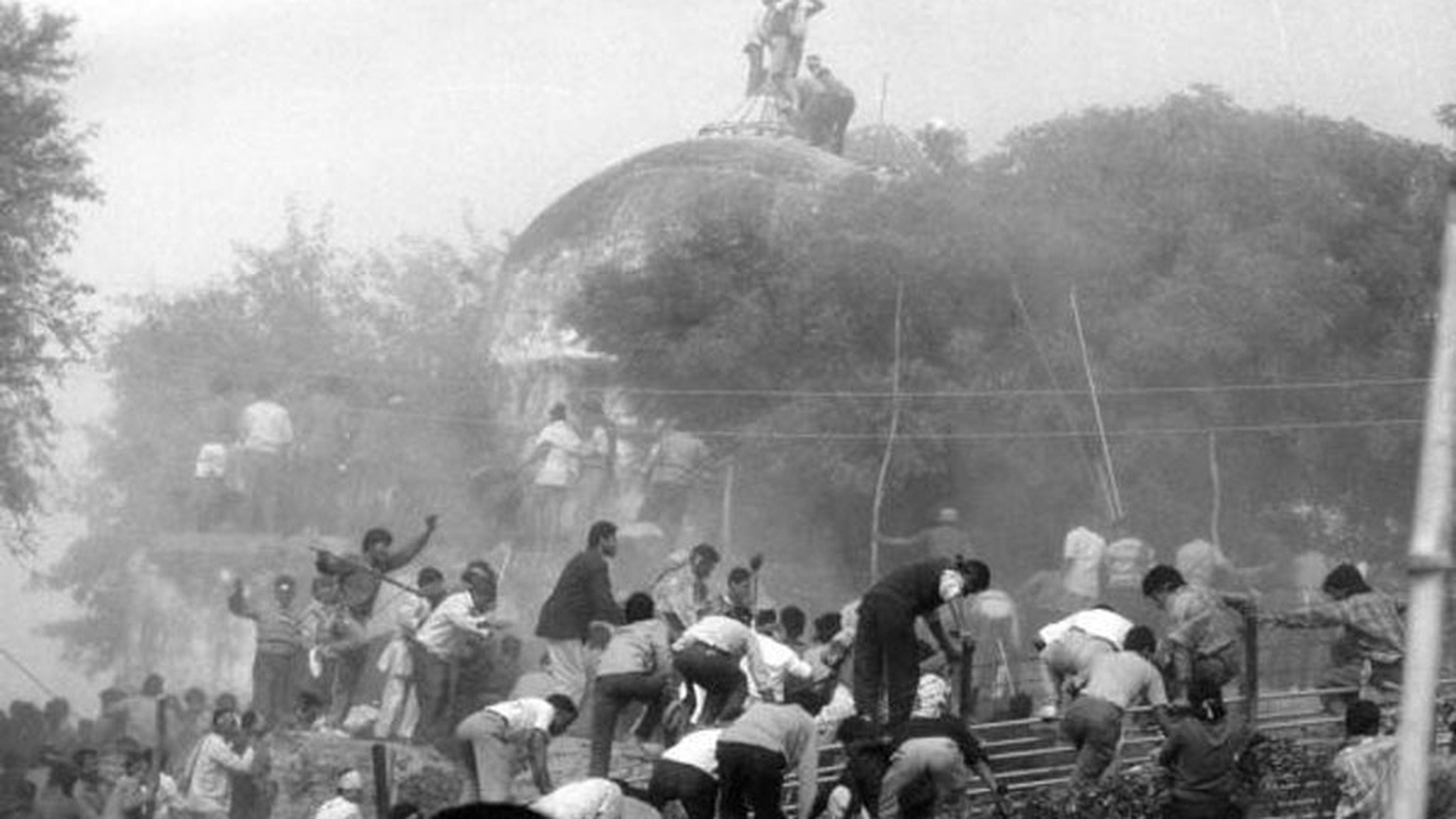 In 1992, kar sevaks demolished the Babri Masjid in Ayodhya in a bid to fulfill their wish of making a temple to Lord Ram there.