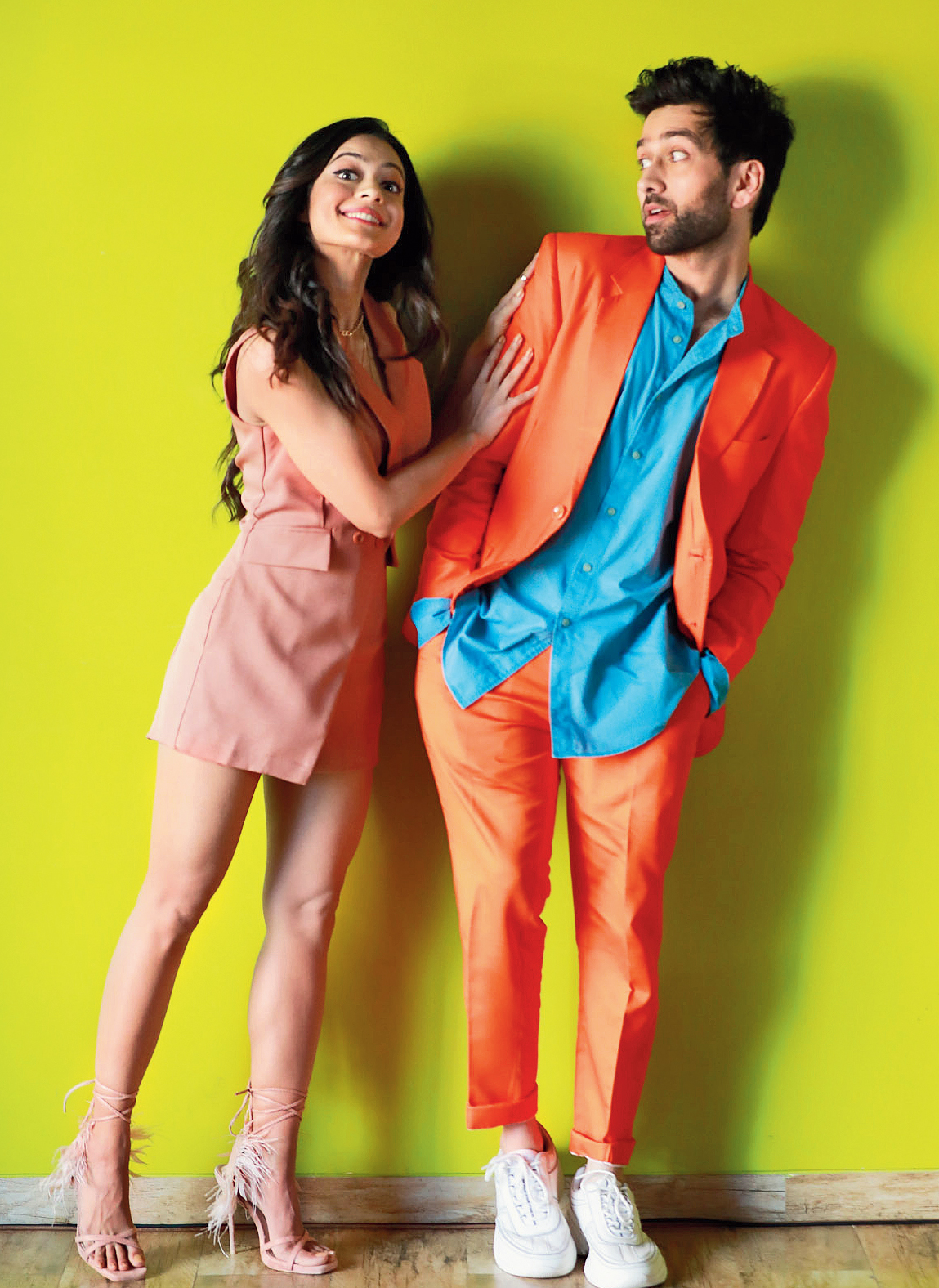 Nakuul Mehta and Anya Singh, Never Kiss Your Best Friend's Sumer and Tanie