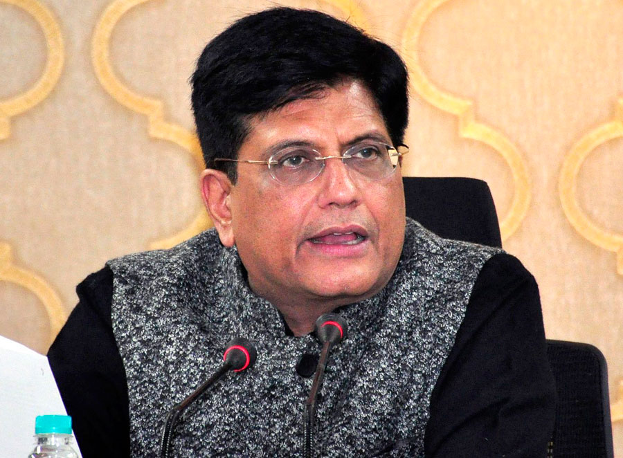 Piyush Goyal announcing the extension of 22 pairs of train services running on the Indian Railways' system, in New Delhi on Wednesday, January 23, 2019.