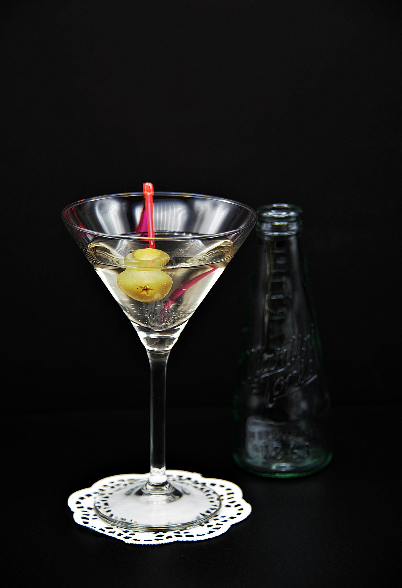 Martini: Shaken not stirred