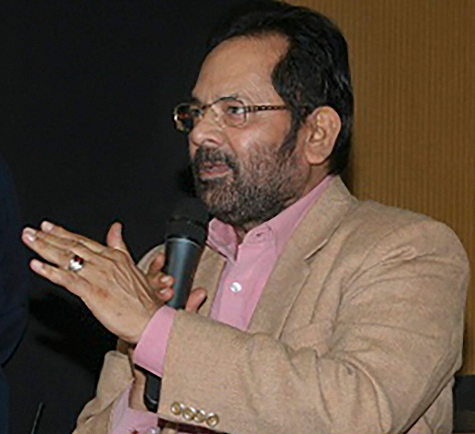 Minority affairs minister Mukhtar Abbas Naqvi said both the Muslim and the Hindu side had said prior to the Supreme Court verdict that it would be acceptable to them