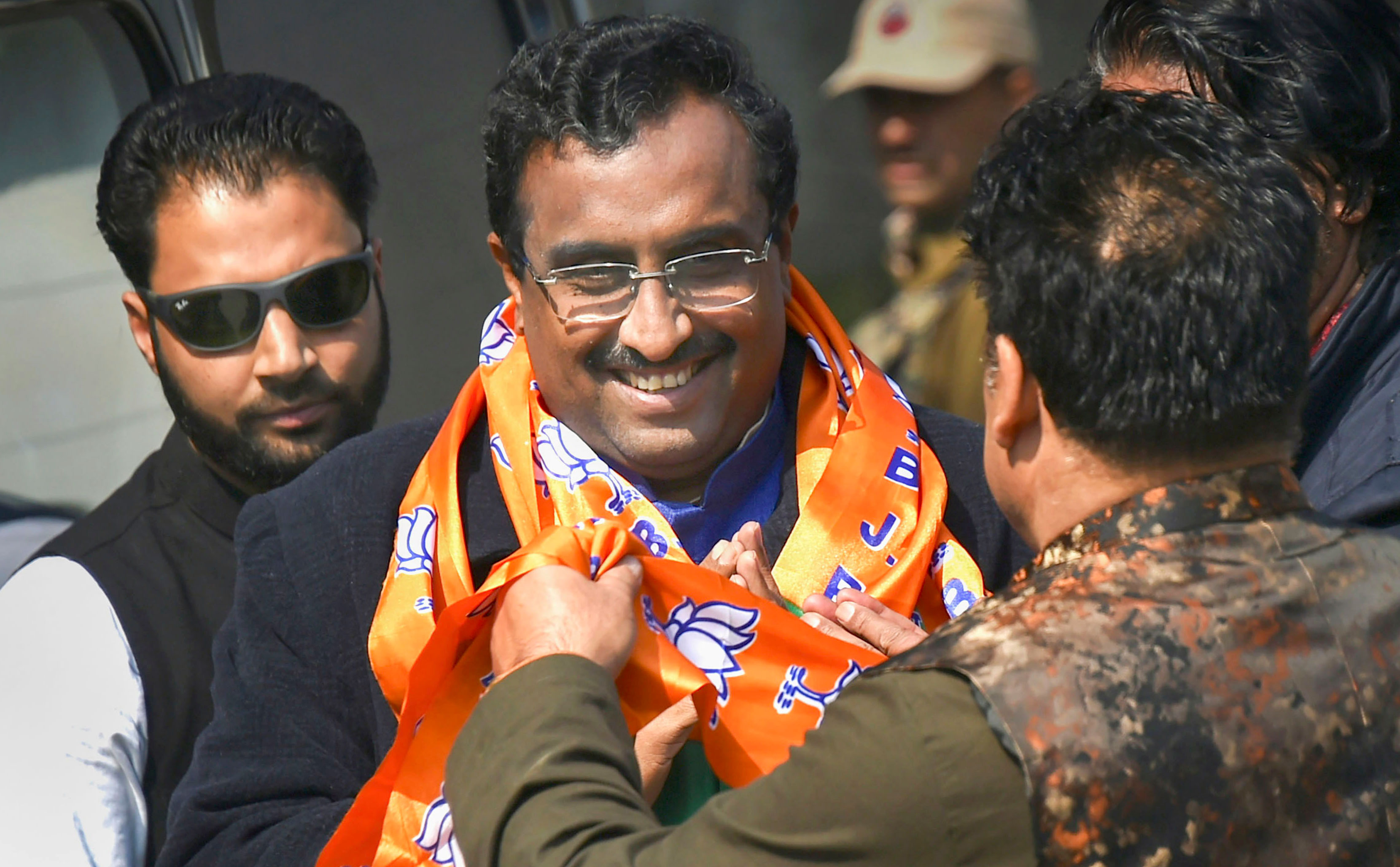 "BJP national general secretary Ram Madhav, projected as a foreign policy expert, has confirmed to a television channel that there have been ""certain flashpoints in three places in Ladakh and one in north Sikkim but they have all right now been taken care of""."