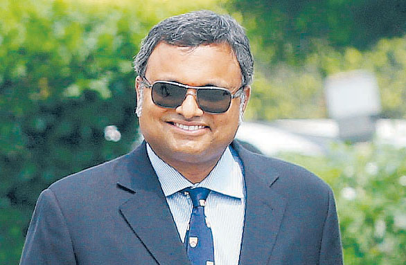 ED attaches Karti's assets worth Rs 54cr in India, UK, Spain