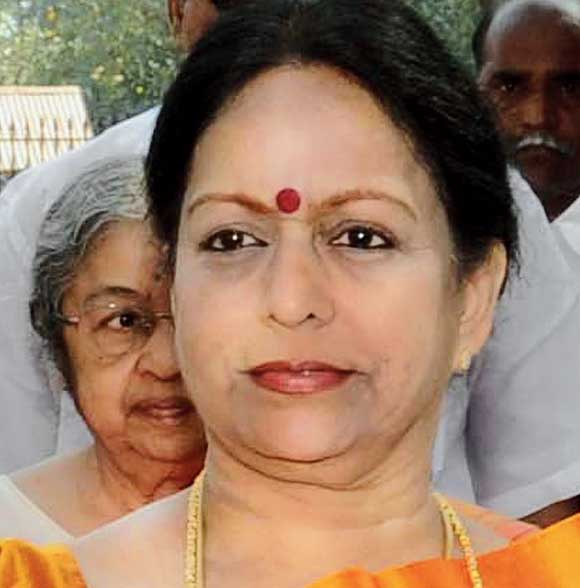 In January, the CBI had submitted a chargesheet against Nalini Chidambaram (in picture) to the special court at Barasat near Calcutta.