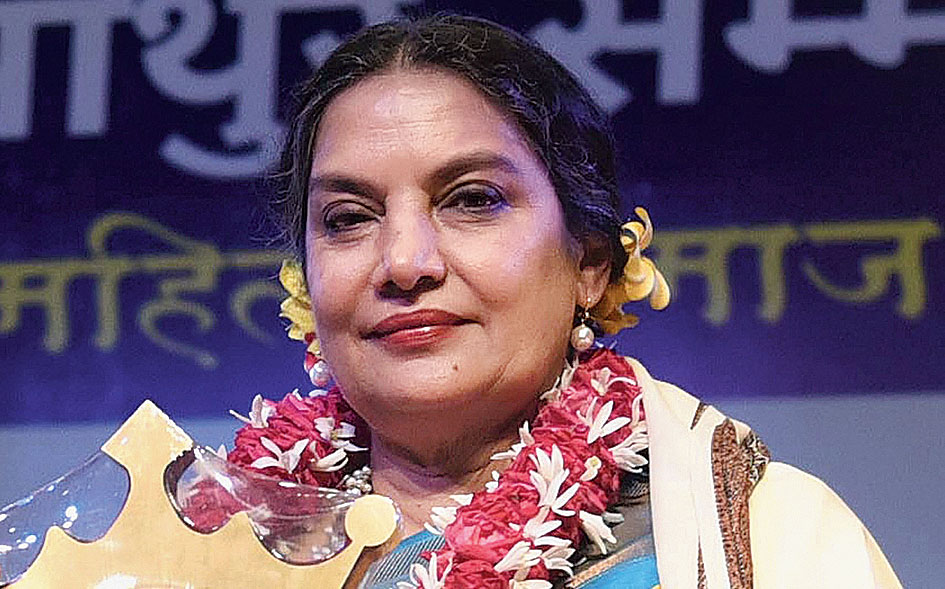 Shabana Azmi in Indore on July 6, 2019.