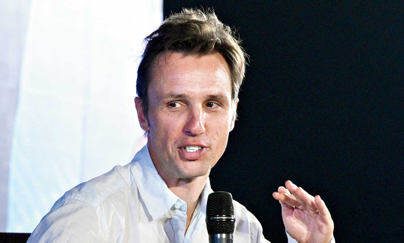 At Kalam 2019, Markus Zusak told the story of the book that he almost didn't write and the book that put him in front of a global audience