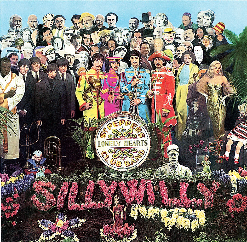 The Beatles' Sgt Pepper's Lonely Hearts Club Band has been named the most popular British album of all time
