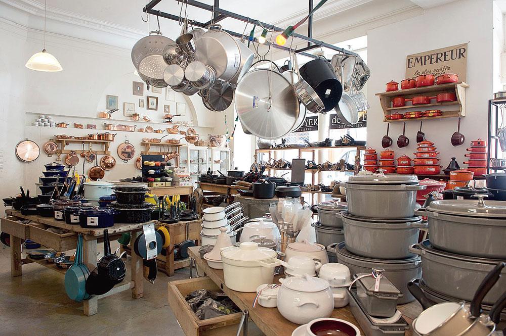 Maison Empereur cookware shop
