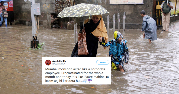 The Indian Meteorological Department said rains were likely to continue throughout the day