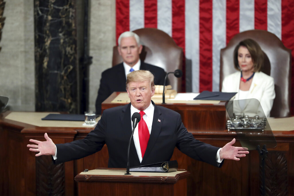 Trump's State of Union address: Call for unity, hard line on immigration