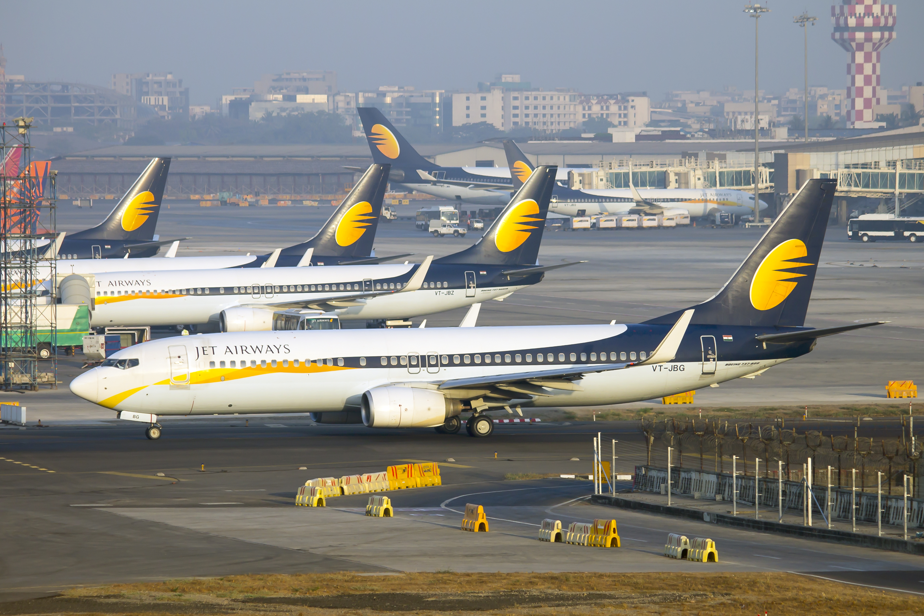 Jet Airways owes more than Rs 8,000 crore to the lenders' consortium apart from vendor dues and unpaid salaries, taking its total liabilities to over Rs 20,000 crore.