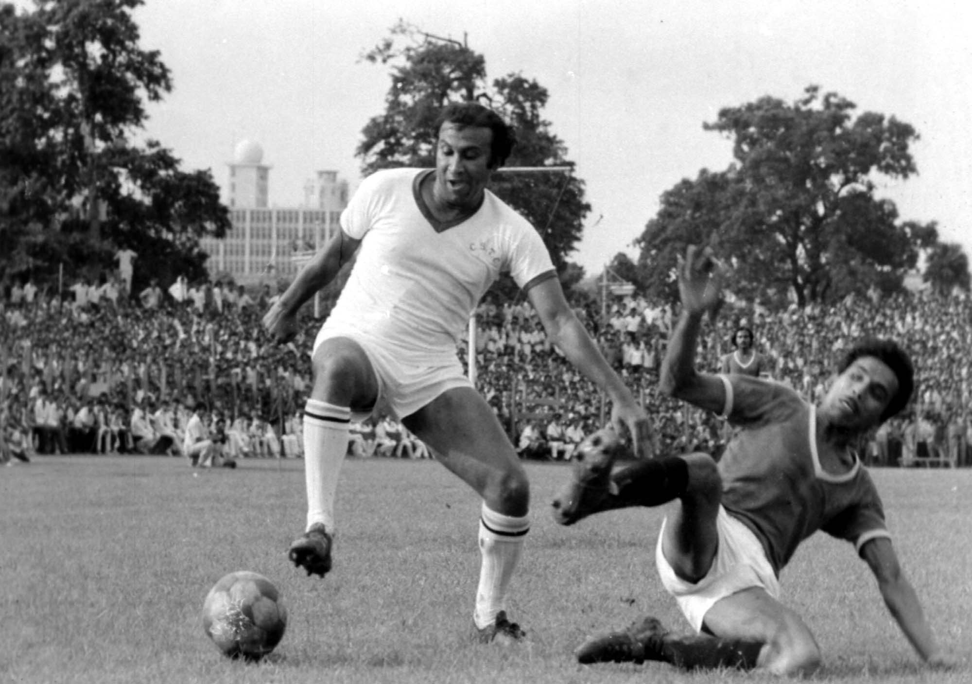 P.K. Banerjee will forever remain more than the sum total of his parts in Indian football's golden folklore.