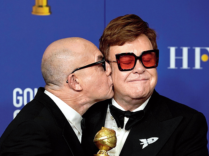 Elton John and Bernie Taupin.