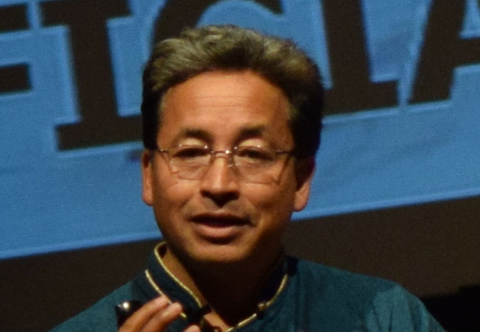 Ladakh environmentalist and Magsaysay award winner Sonam Wangchuk, said that Ladakhis were beginning to compare their treatment by India to that of Tibetans in China.