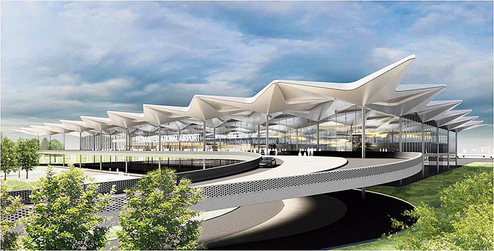 What the Jayaprakash Narayan International Airport will look like after the facelift